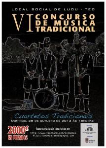Concurso de Musica Tradicional de Luou